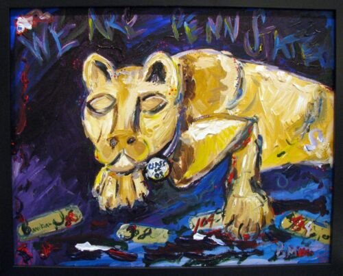 Nittany Lion PSU painting