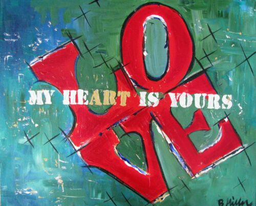 My heart is yours painting