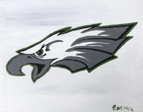 Philadelphia Eagles painting