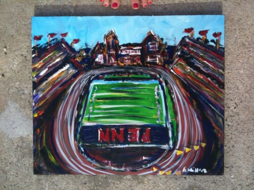 Franklin Field Penn Painting