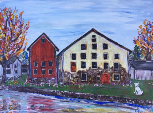 Bucks county painting