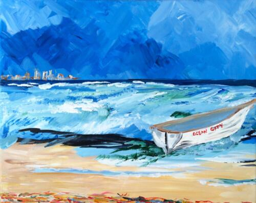 Ocean City New Jersey painting