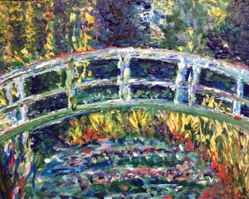 Monet Water Lillies Painting