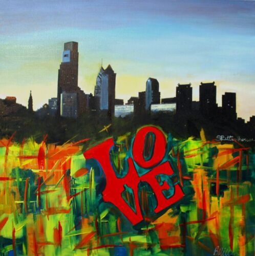 Love Philly Collaboration painting