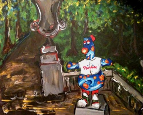 Phanatic Rittenhouse Square paitning