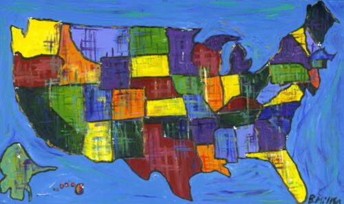USA Painting